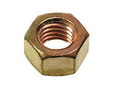 Cupro Nickel self locking nuts
